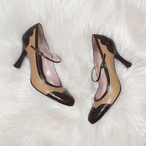 Gianni Bini | Mary Jane Leather Heels